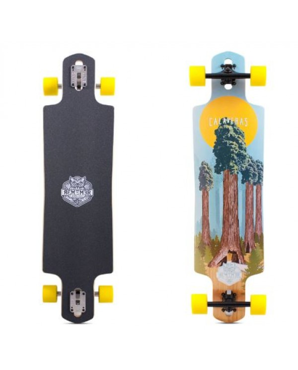 "REMEMBER Calaveras Drop Thru 40"" - longboard komplet"