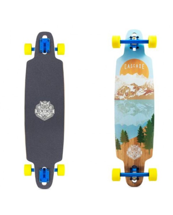 "REMEMBER Cascade Drop Thru 37"" - longboard komplet"