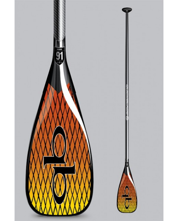 pádlo QUICKBLADE V-Drive Vector Net 91 Travel adj Red/Yellow