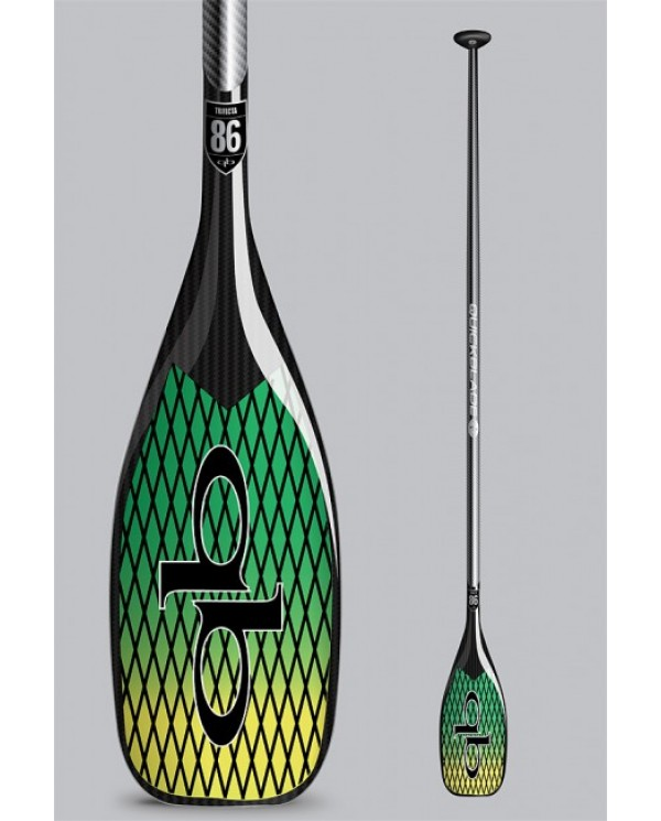 pádlo QUICKBLADE Trifecta Vector Net 76 adj Green/Yellow