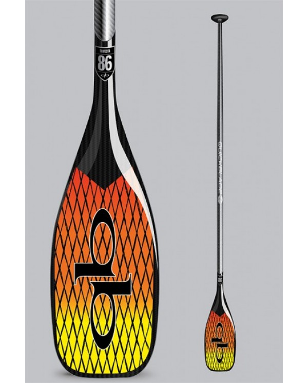 pádlo QUICKBLADE Trifecta Vector Net 76 Travel adj Red/Yellow